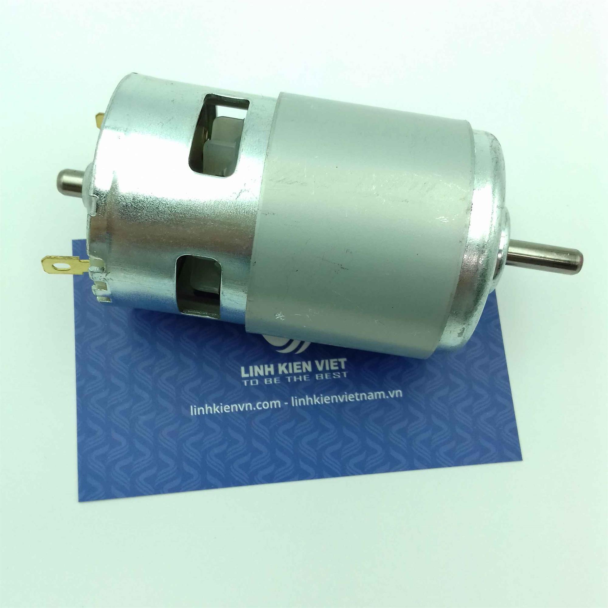 Động cơ 775 1 đầu 12V 18000 rpm 150W siêu mạnh -
