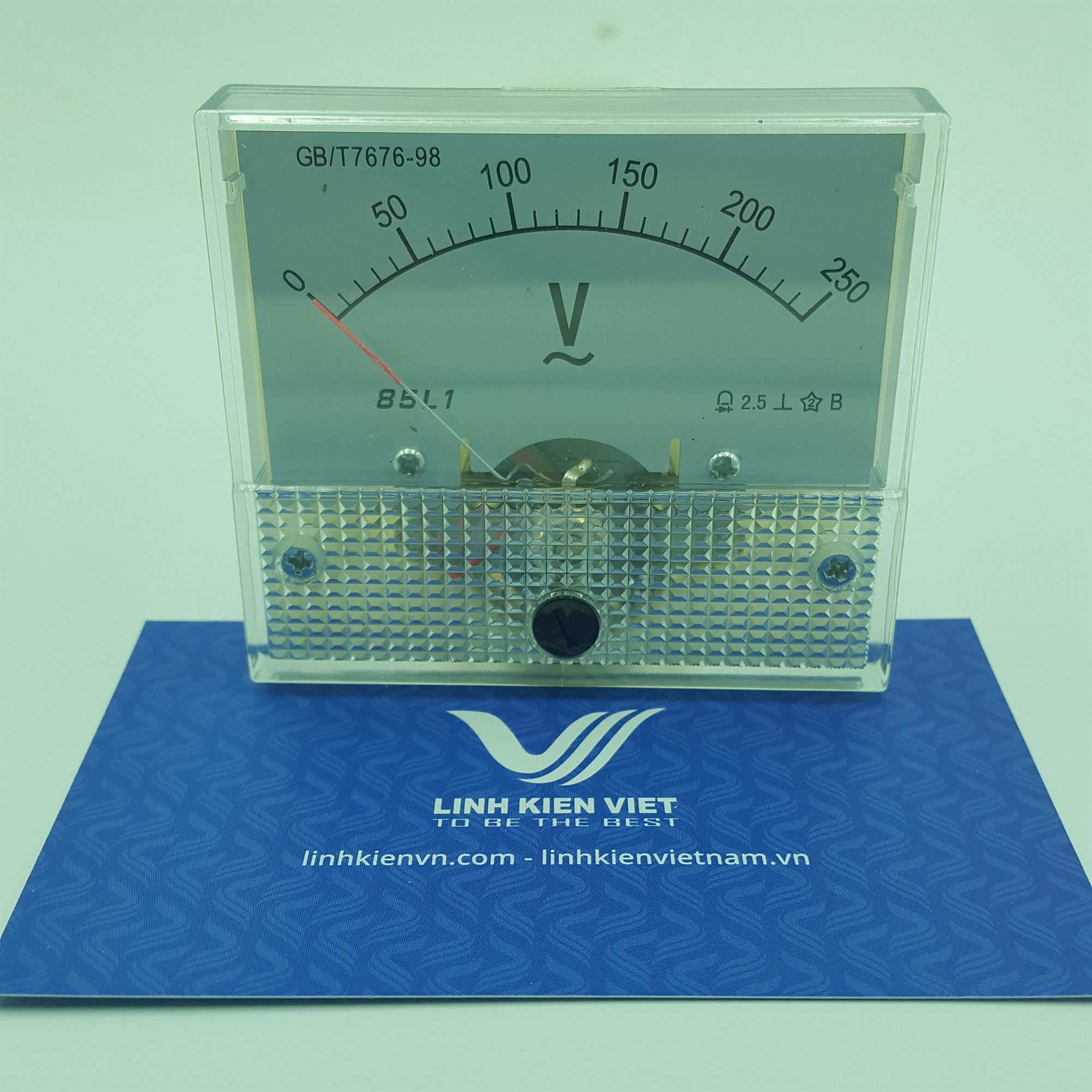 Đồng hồ đo điện áp xoay chiều 85L1 250V / Vôn kế 250V AC - J5H12