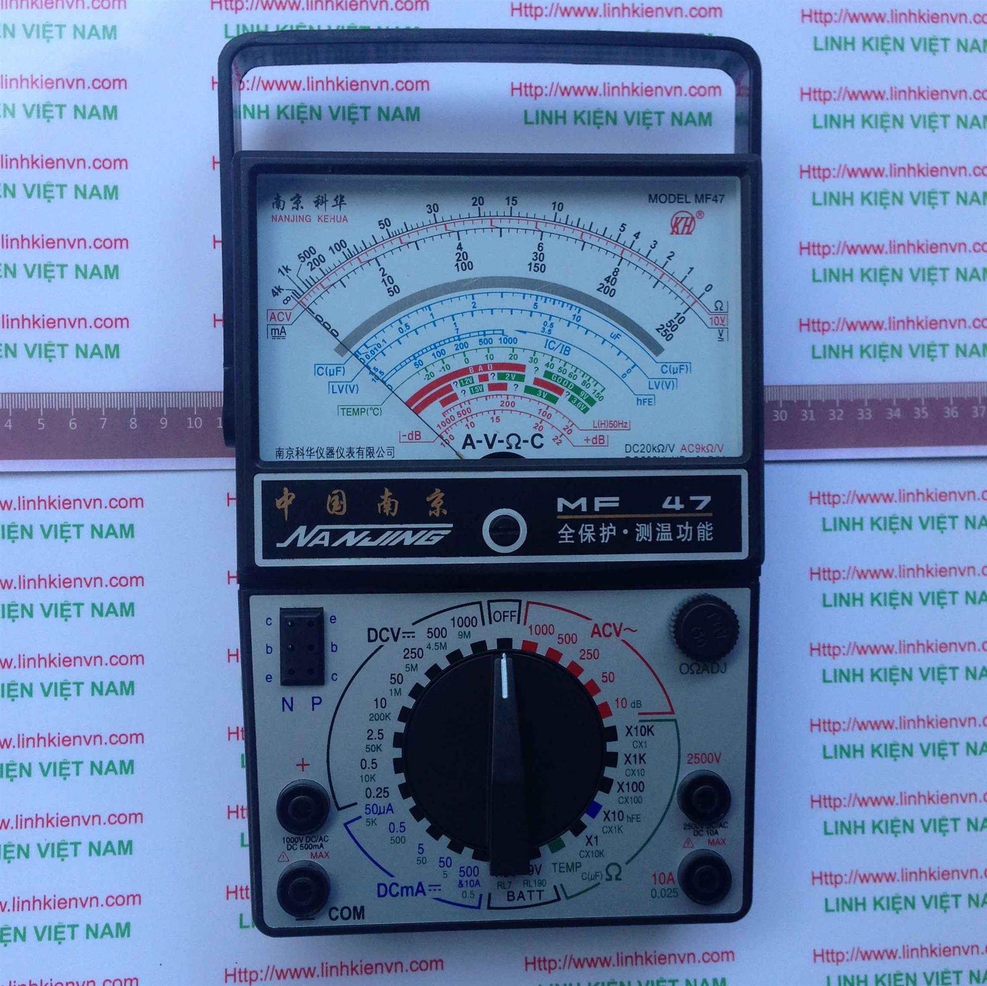Đồng hồ MF47 / Đồng hồ kim MF47/ Đồng hồ tương tự - Kho B