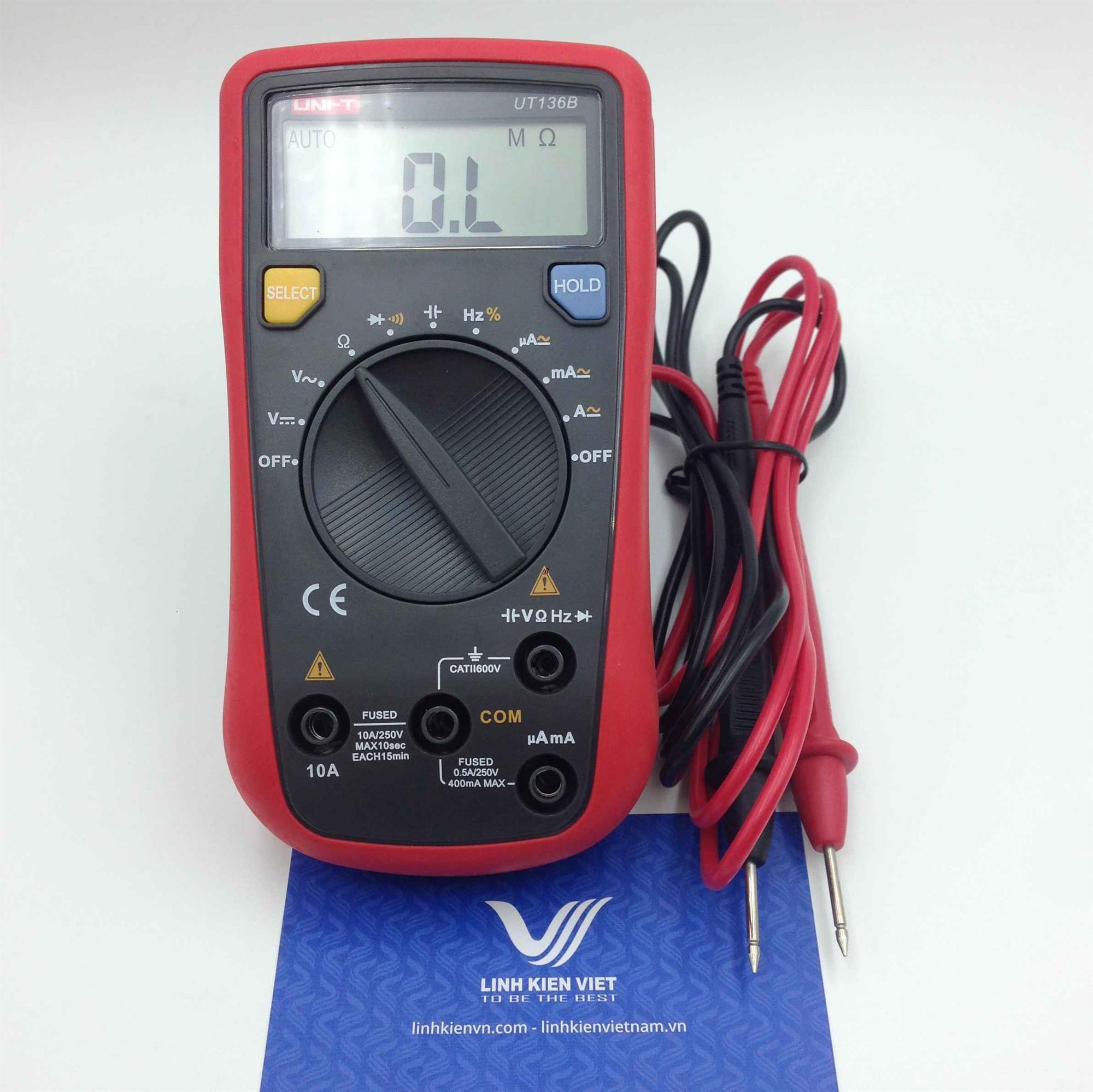 Đồng hồ vạn năng Uni-T UT136B dải tự động