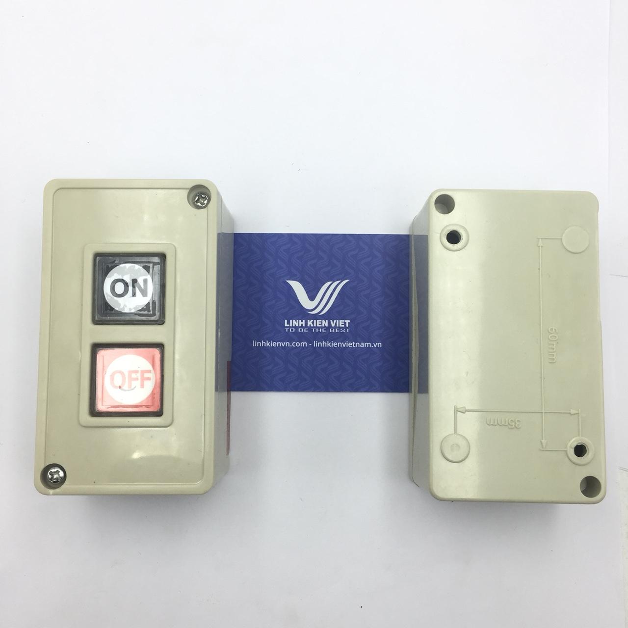 HỘP NÚT NHẤN TPB-2 3A/250V i9H17