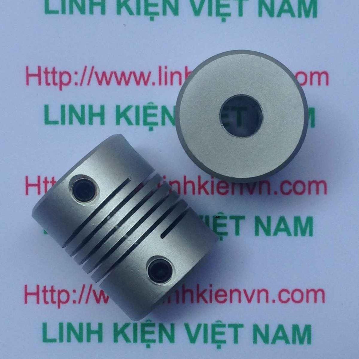 KHỚP NỐI ENCODER KIM LOẠI 6mm - 6mm - C1H16