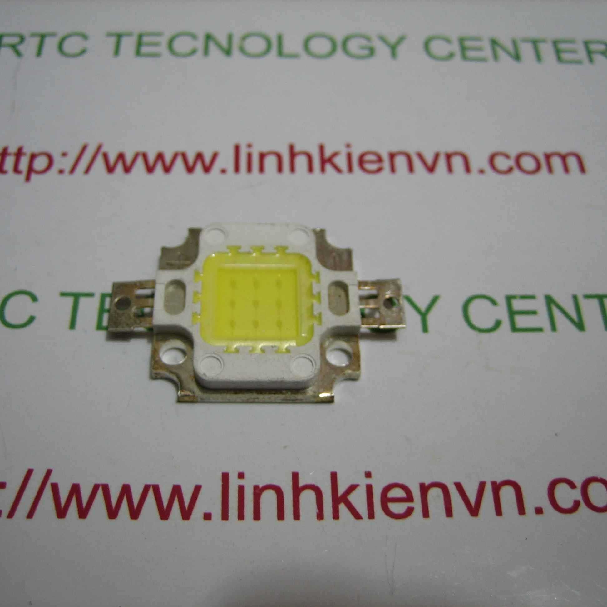 Led Luxeon 10W trắng ấm vàng - G6H6