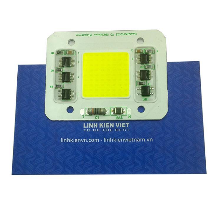 Led Luxeon 220VAC 50W sáng trắng - K5H16