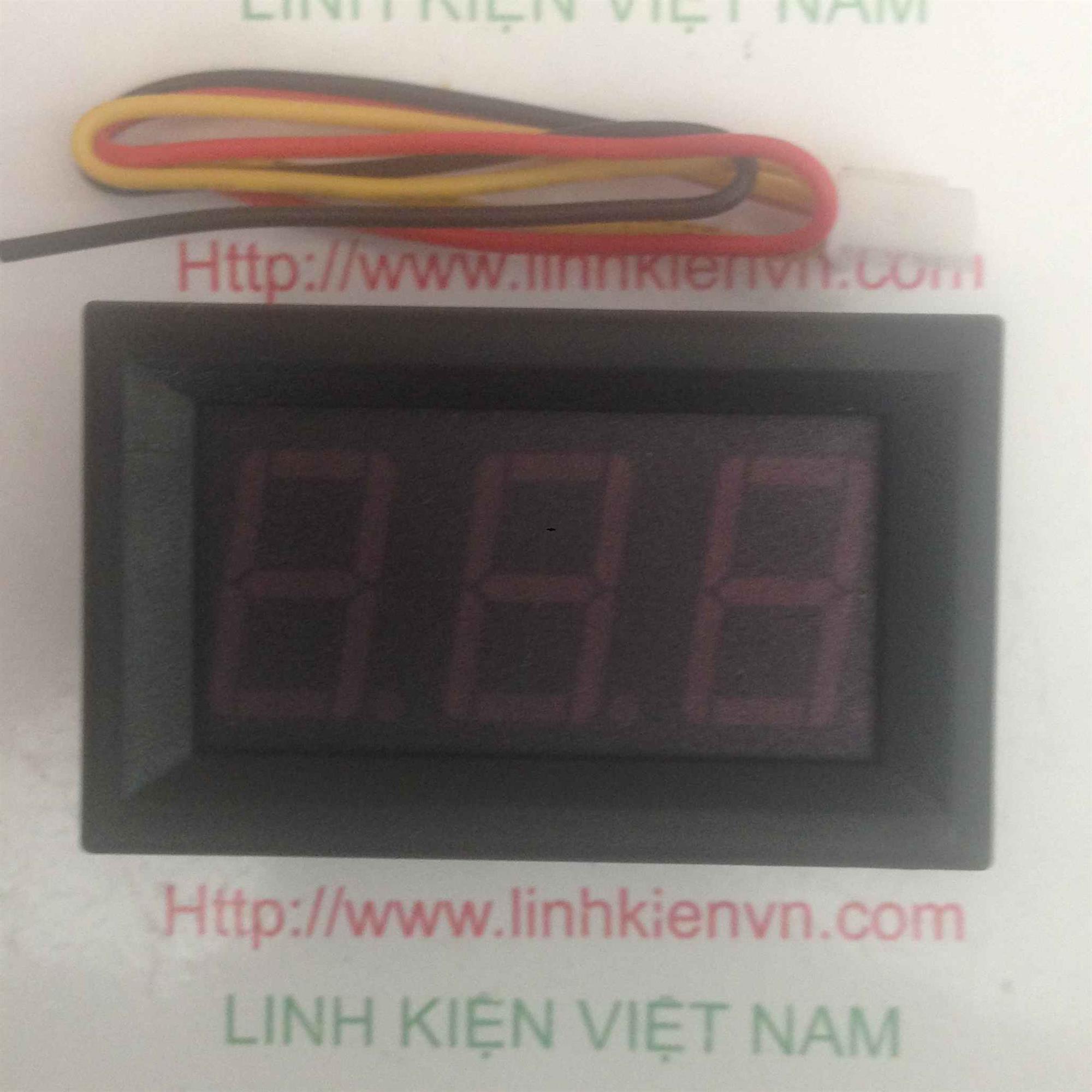 Module Đo Hiển Thị Điện Áp 0-100V - B1H4
