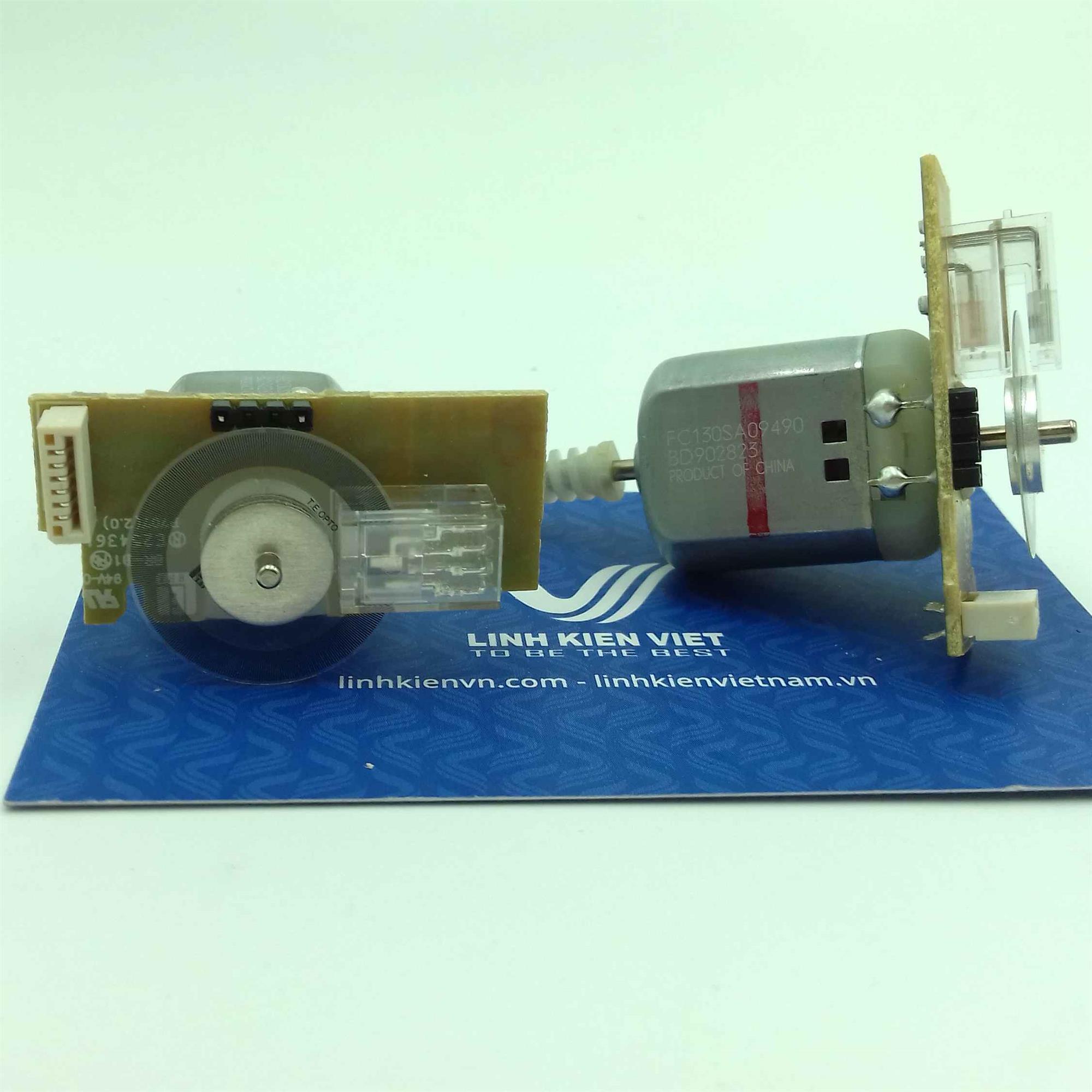 Motor encoder 334 xung mini / Động cơ encoder 334 xung mini - i5H1