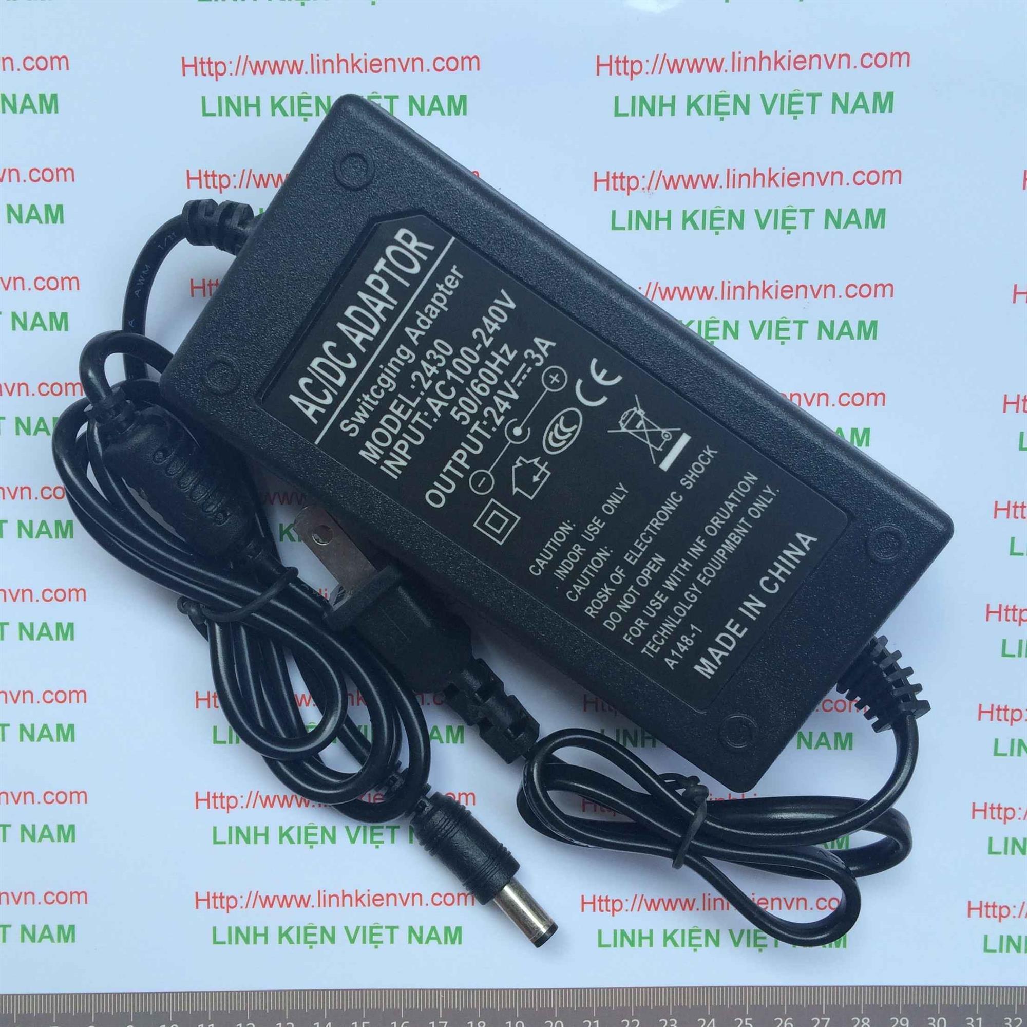 Nguồn adapter 24V 3A - KHO B(KA6H2)