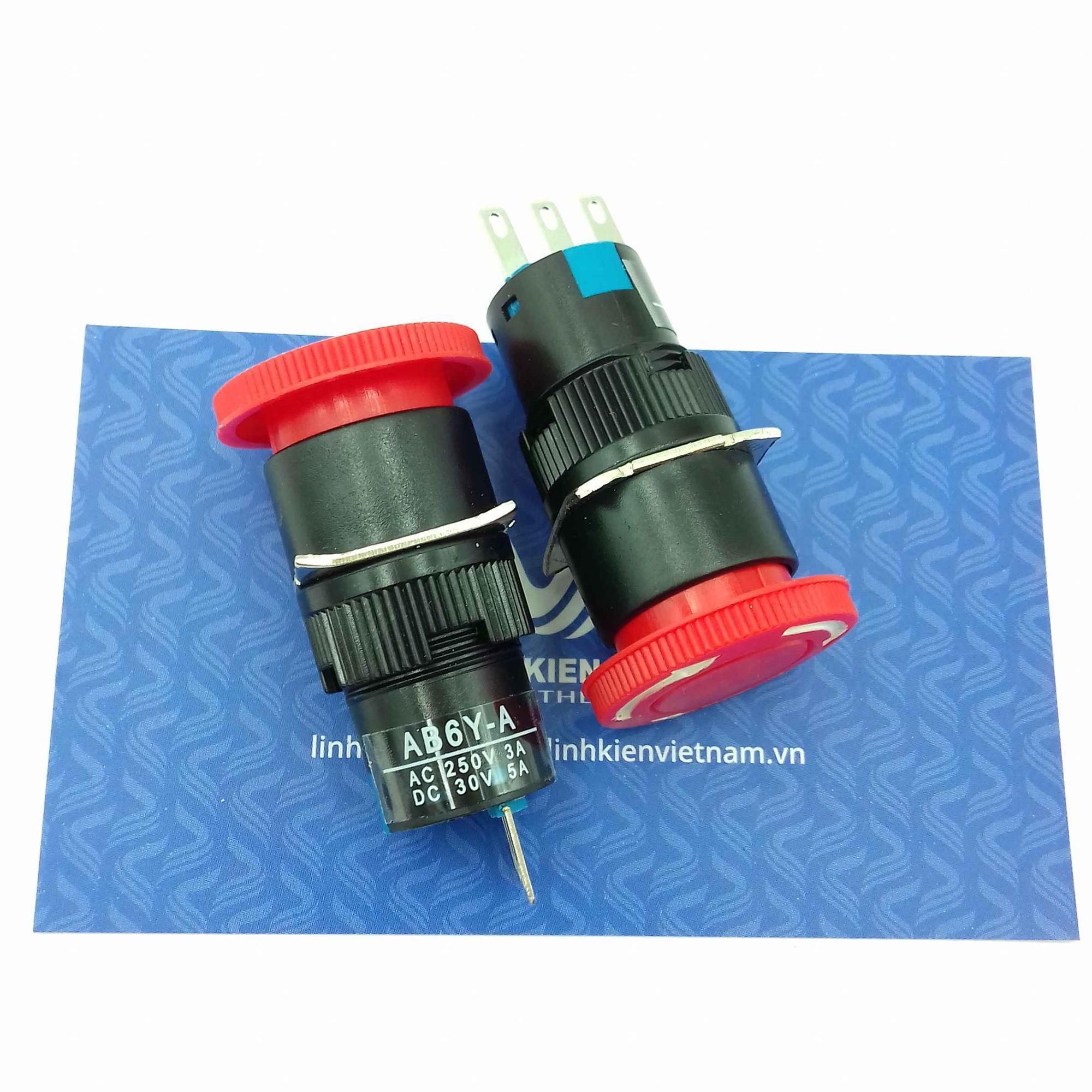 NÚT NHẤN STOP LA16-11ZS 16mm / Nút dừng khẩn cấp / Emergency button - I6H10