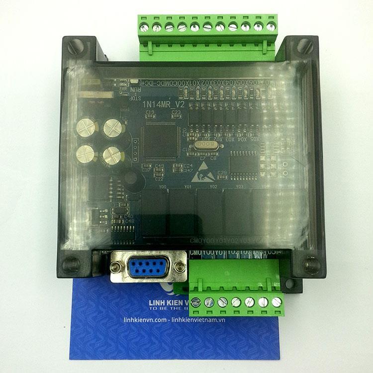 PLC board fx1n-14MR - có vỏ - KHO B