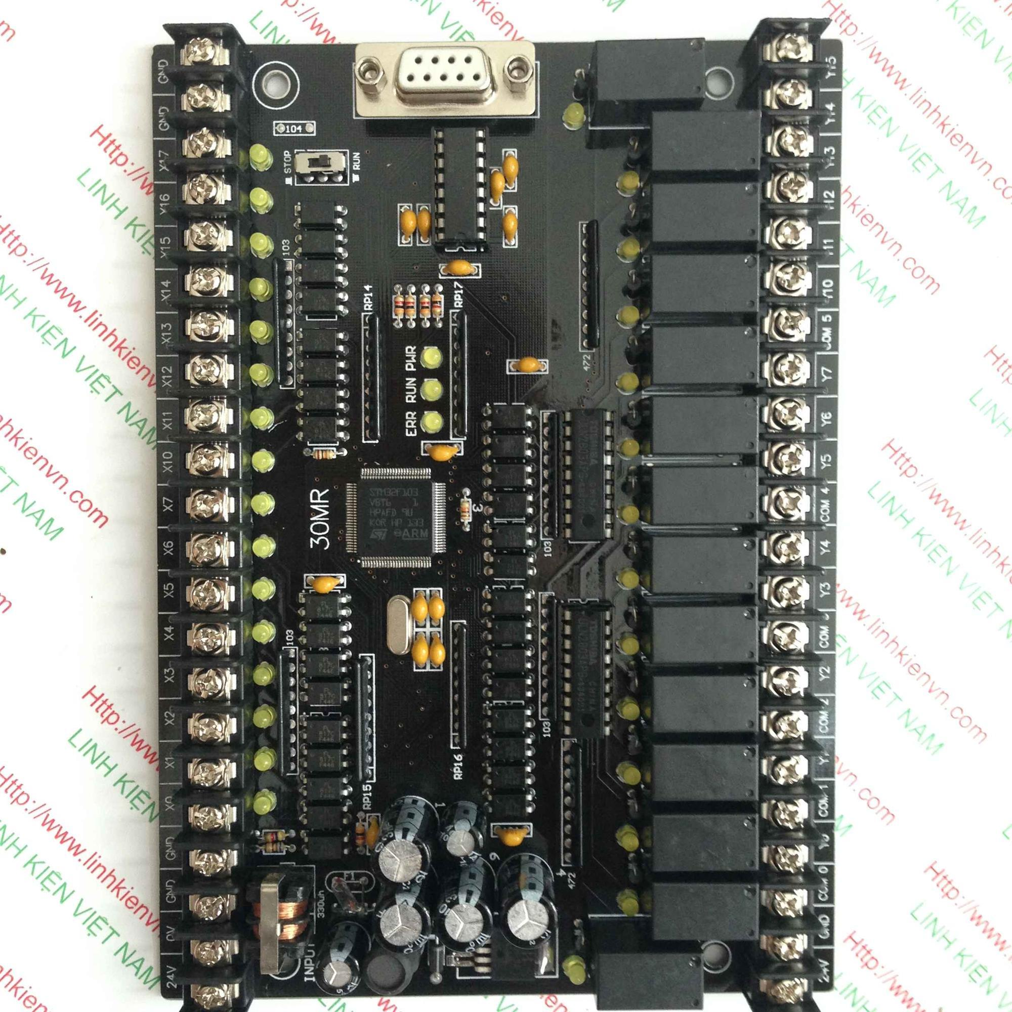 PLC board FX1N-30MR - KHO B