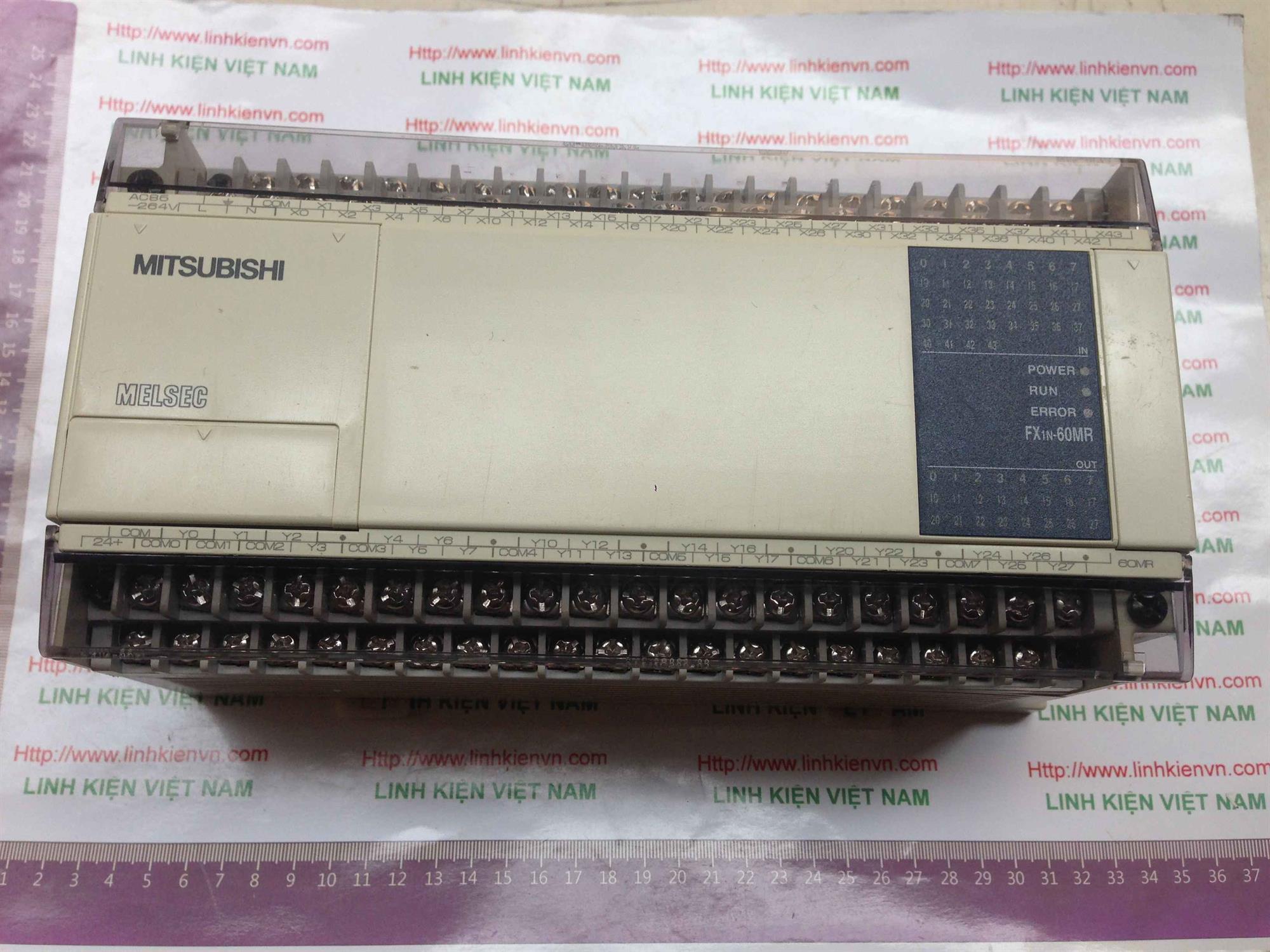 PLC FX1N-60MR FX1N60MR - KHO B