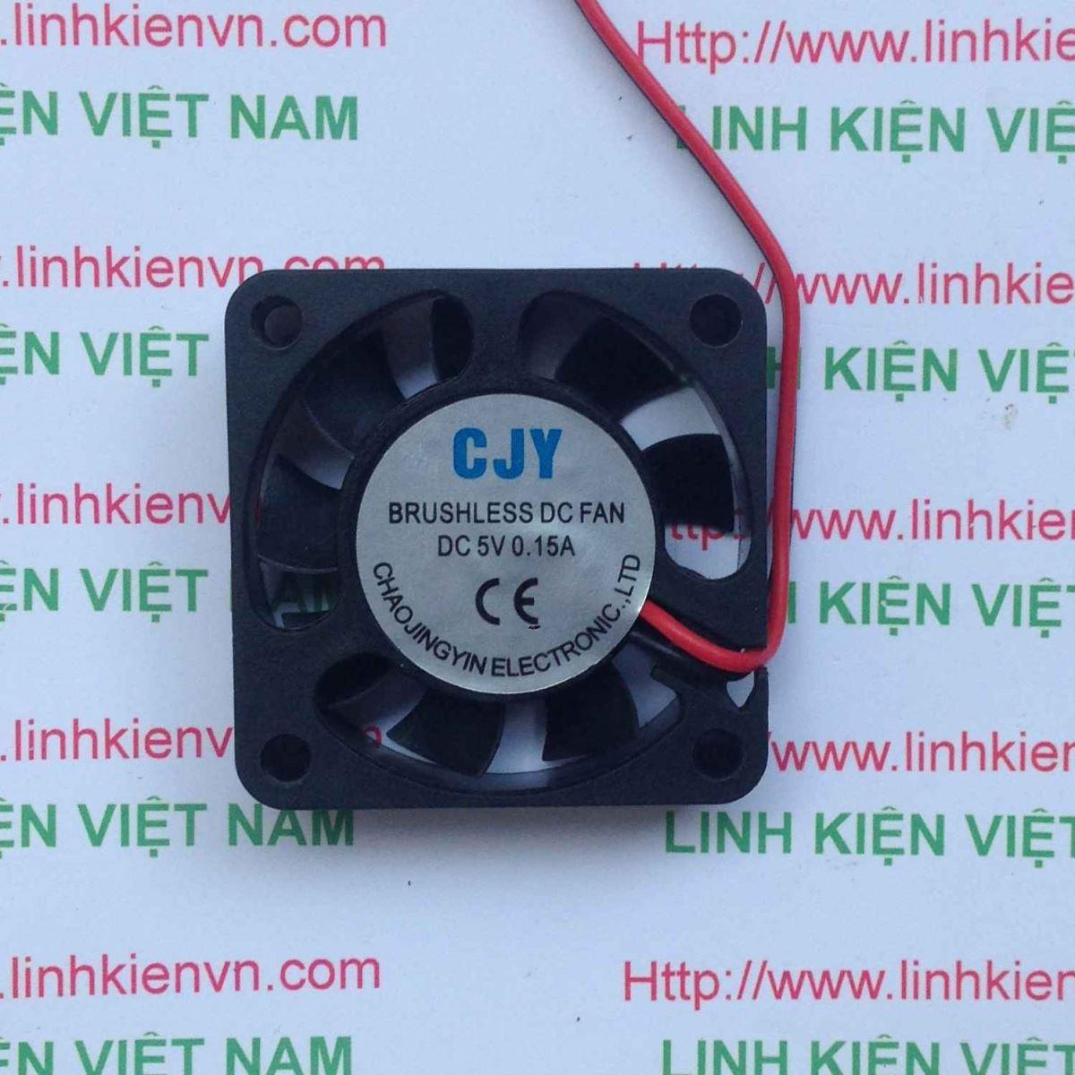 Quạt tản nhiệt 5V 4x4Cm / Quạt Fan 5V 4x4 Cm - G7H15