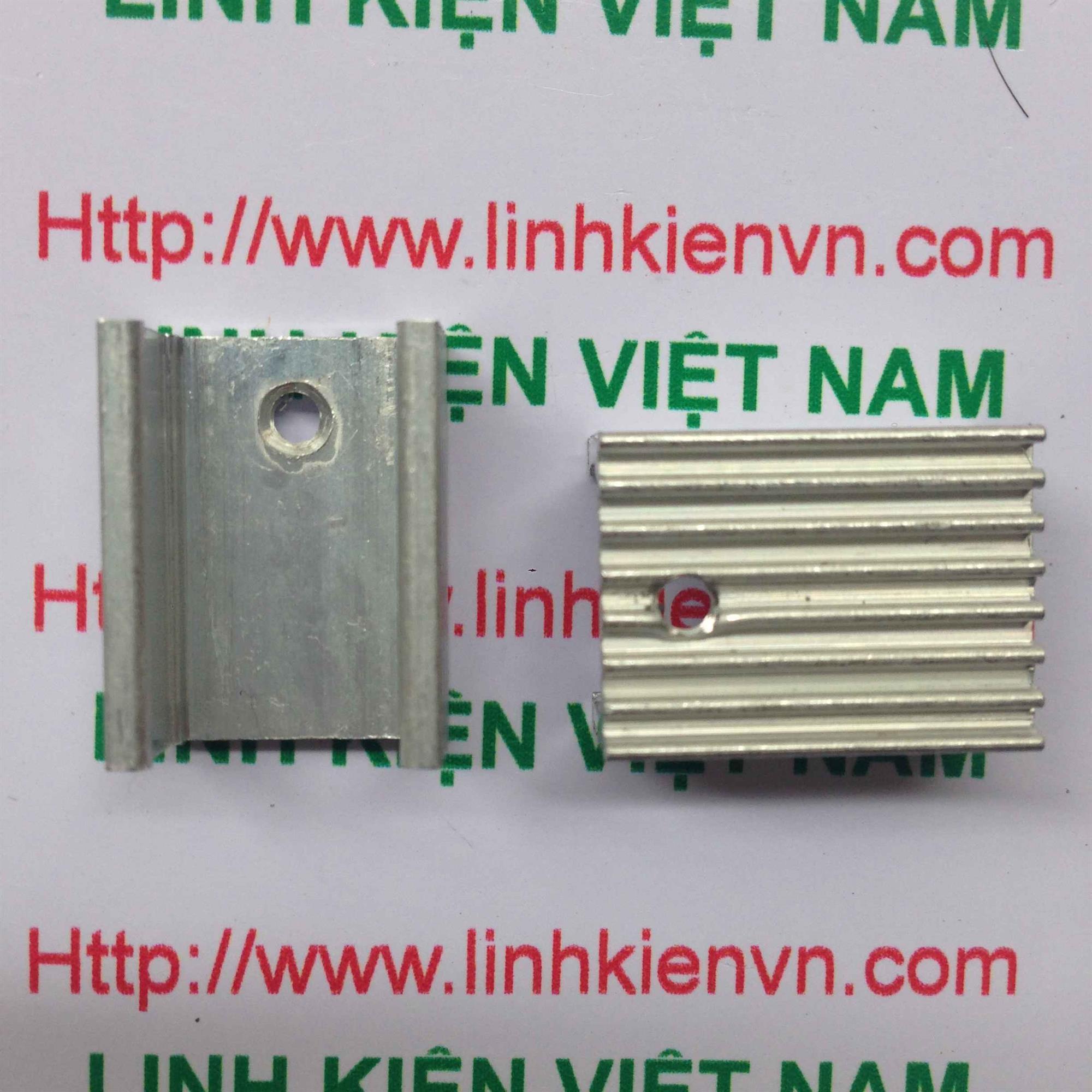TẢN NHIỆT TO220 KHÔNG CHÂN - A6H2 (KA3H1)