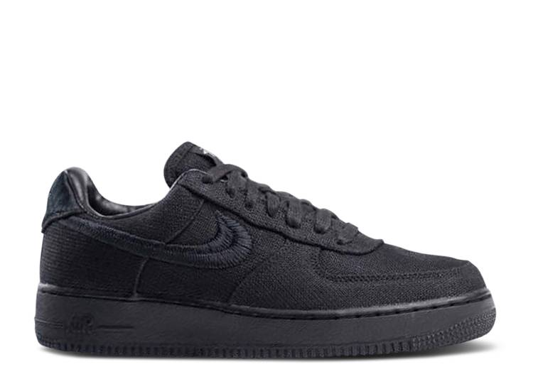 stussy-x-air-force-1-low-triple-black