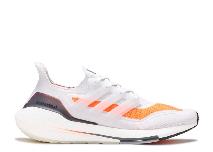 UltraBoost 21 'Grey Screaming Orange'