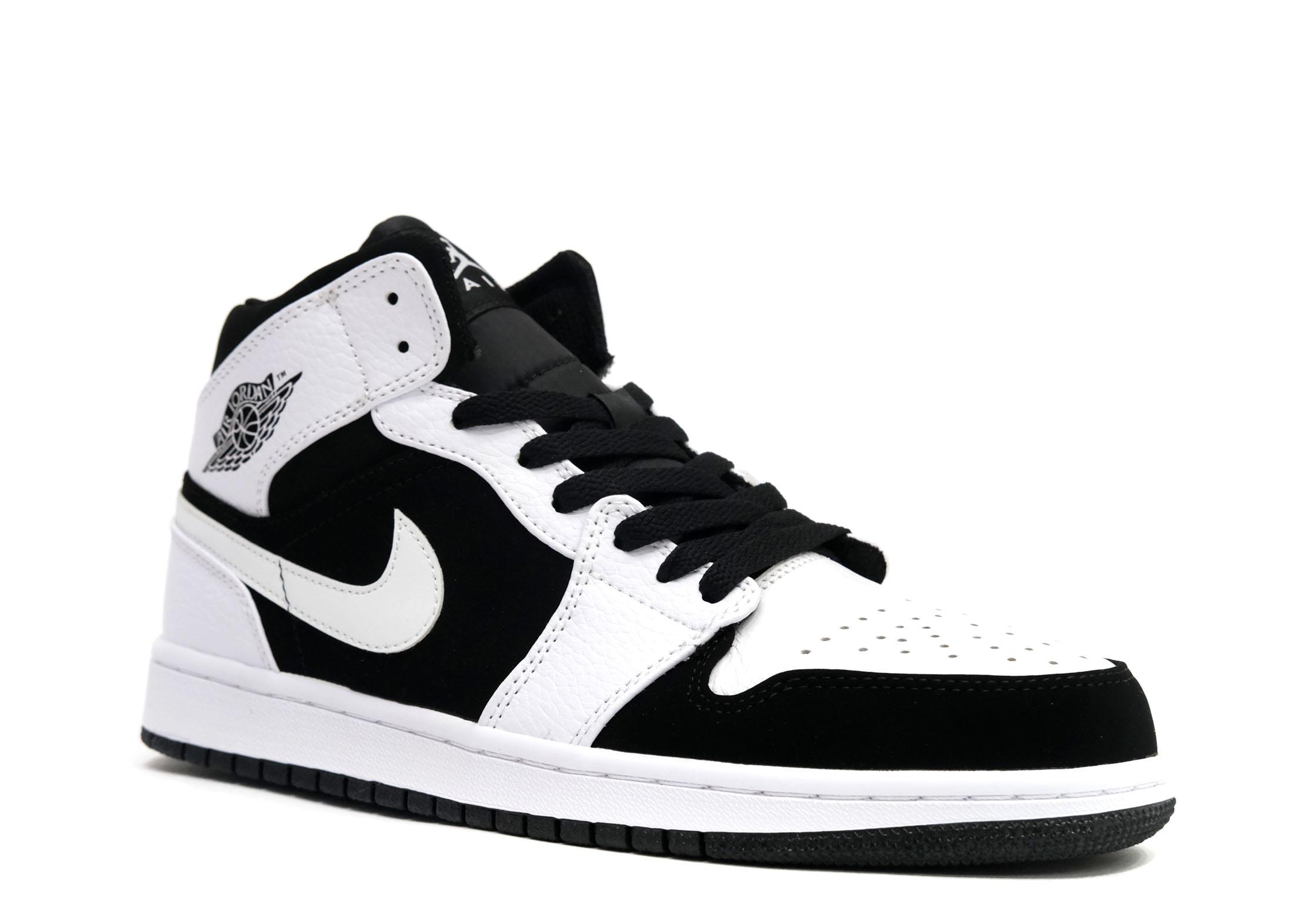 air-jordan-1-mid-white-black