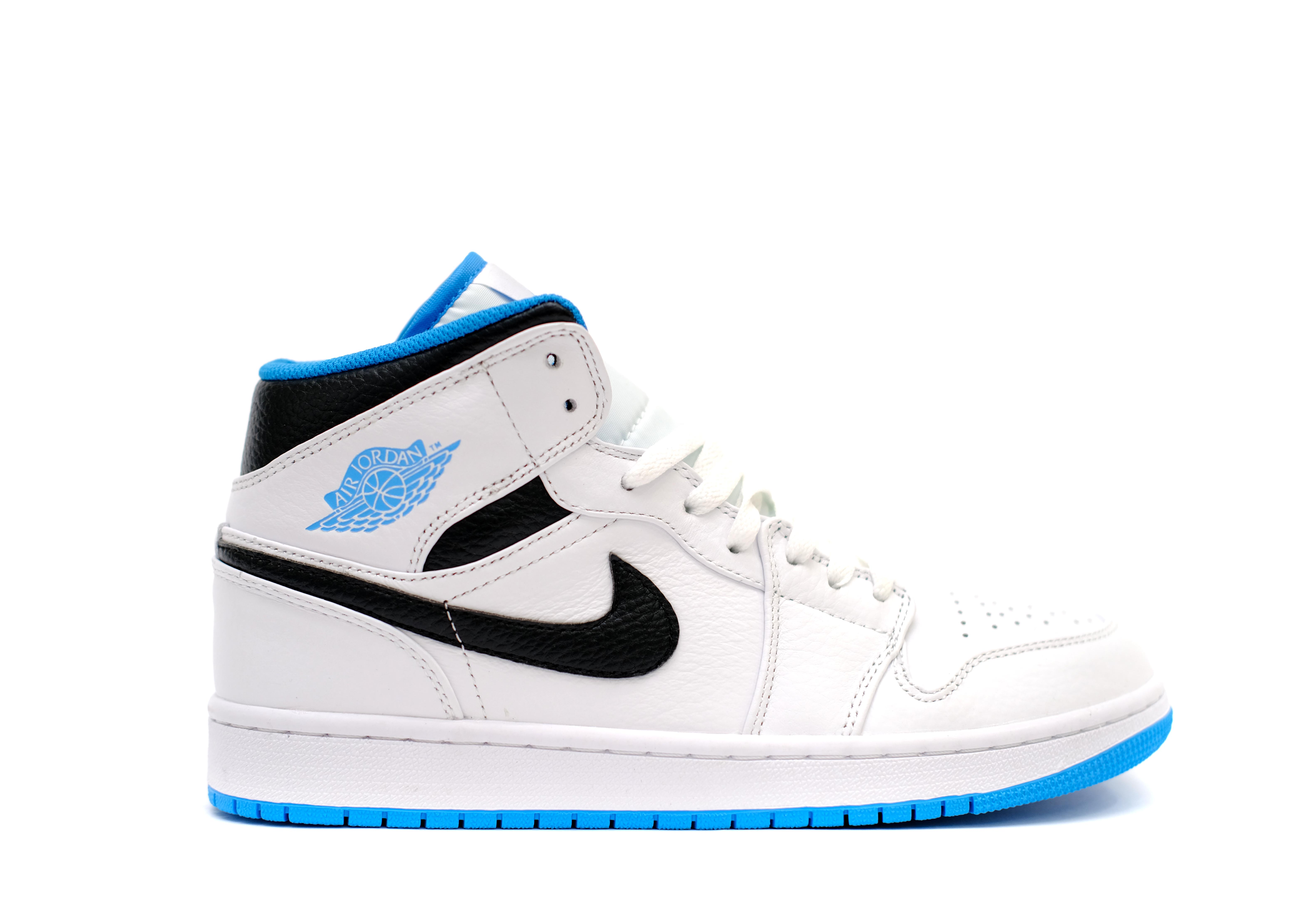 Air Jordan 1 Mid Laser Blue