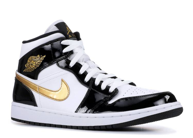 air-jordan-1-mid-patent-black-gold