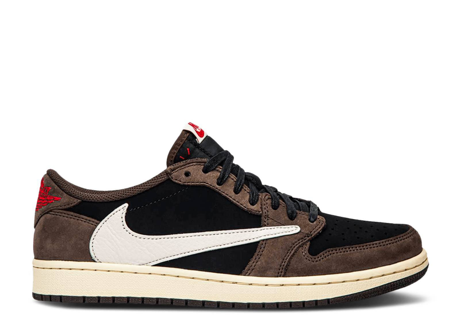 TRAVIS SCOTT X AIR JORDAN 1 LOW 'MOCHA' SAMPLE