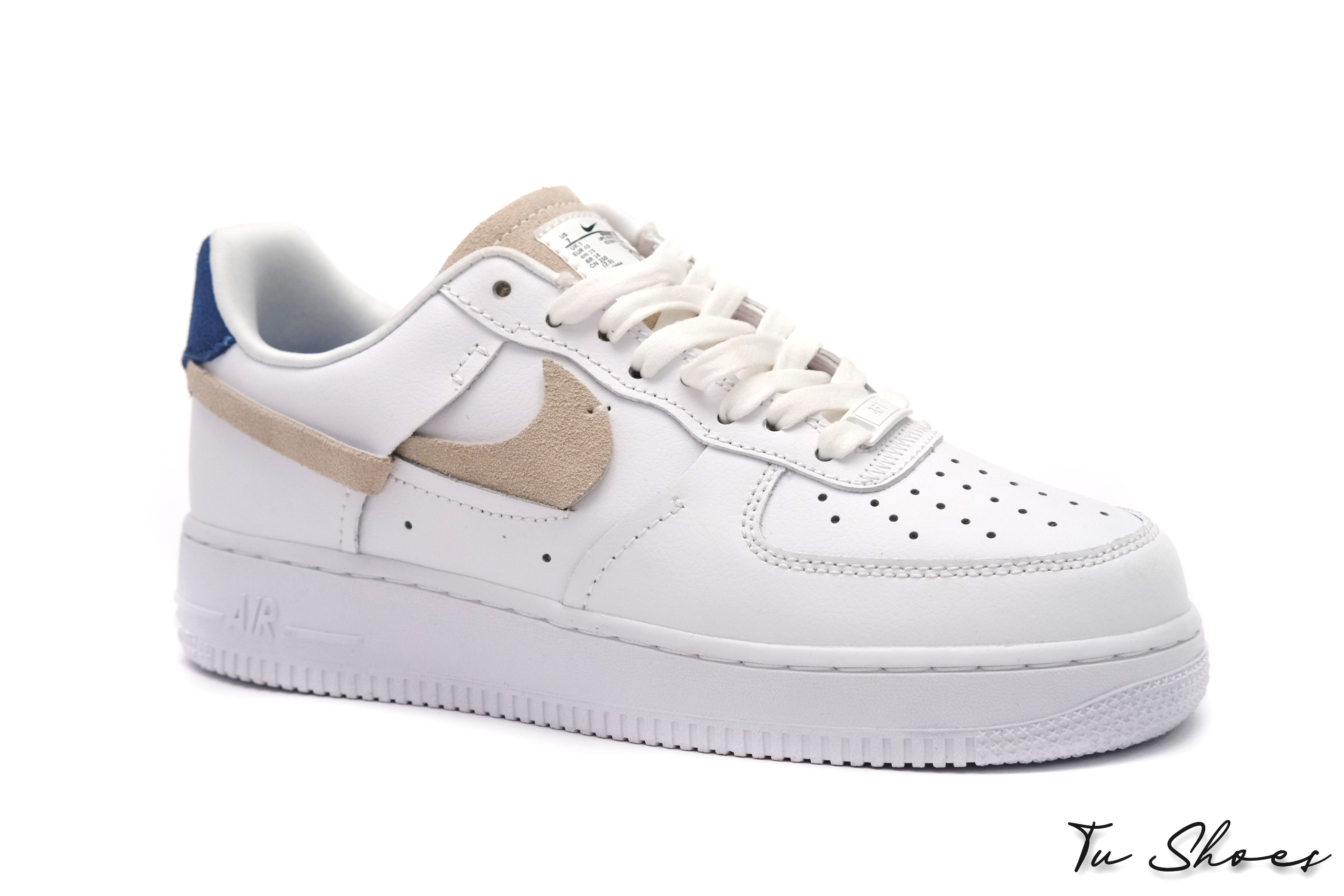 Nike Sportswear AIR FORCE 1 LV8 - Sneakers - white/sail