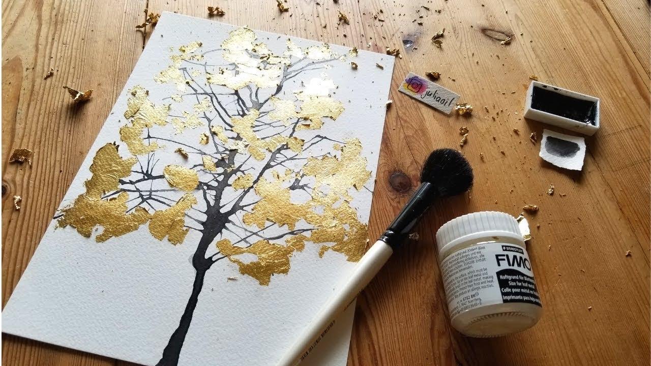 Lá mỹ thuật ánh kim (Vàng, Bạc, Đồng ) - Mont Marte Gold/Silver/Copper Leaf  – Hana Art Shop
