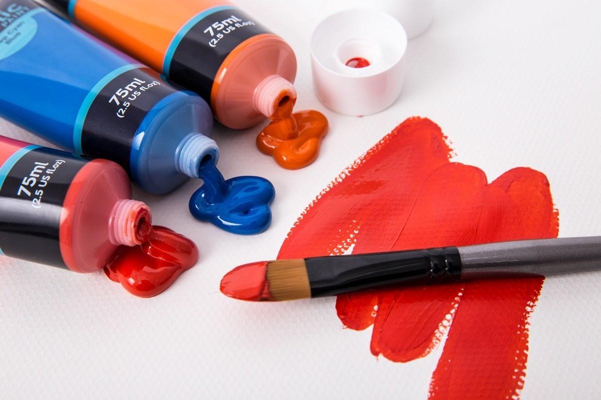 Màu Mont Marte Studio Acrylic - Tuýp lẻ 75ml – Hana Art Shop