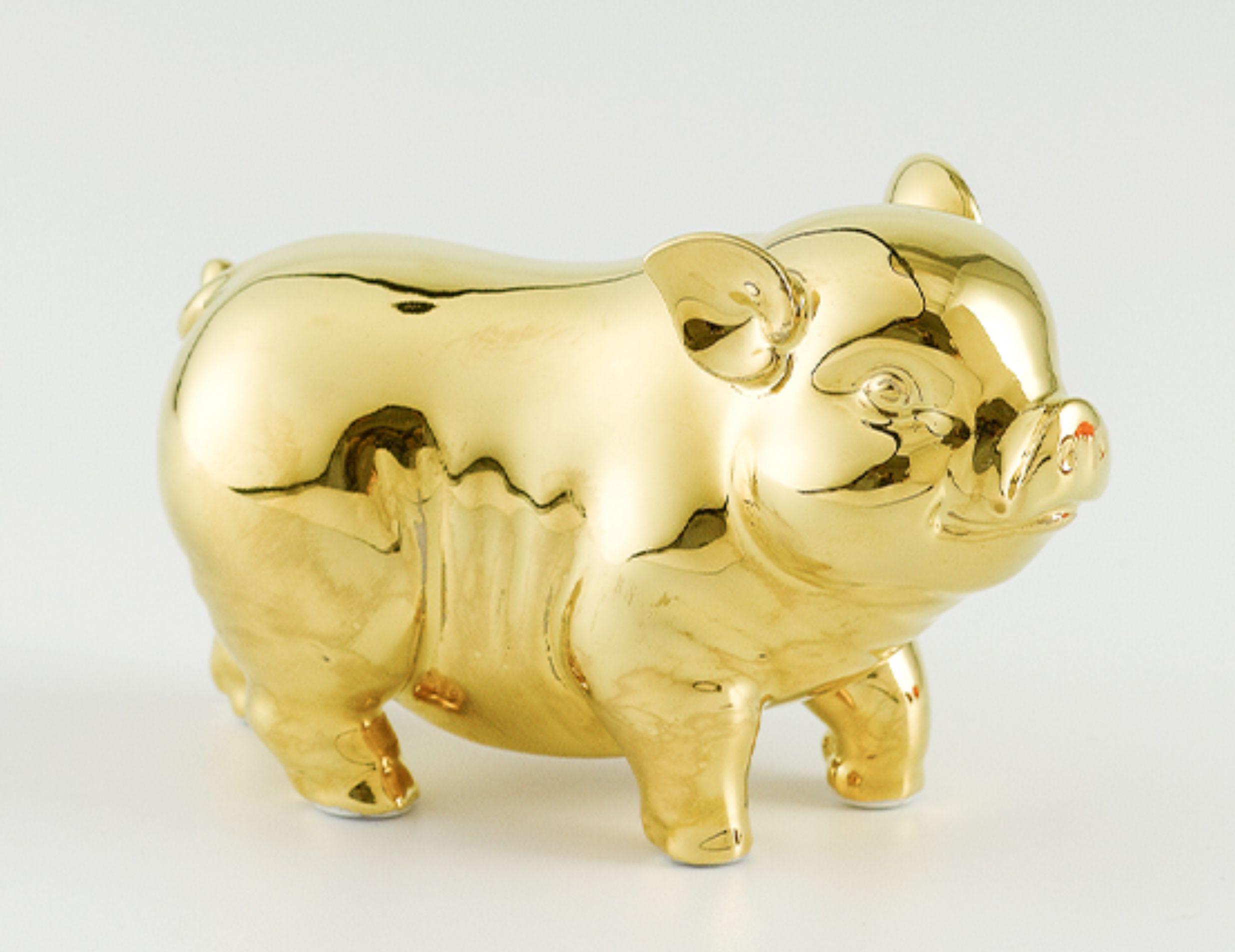 Tượng Tài Lộc 15cm - Dát Vàng 00551022V Minh Long