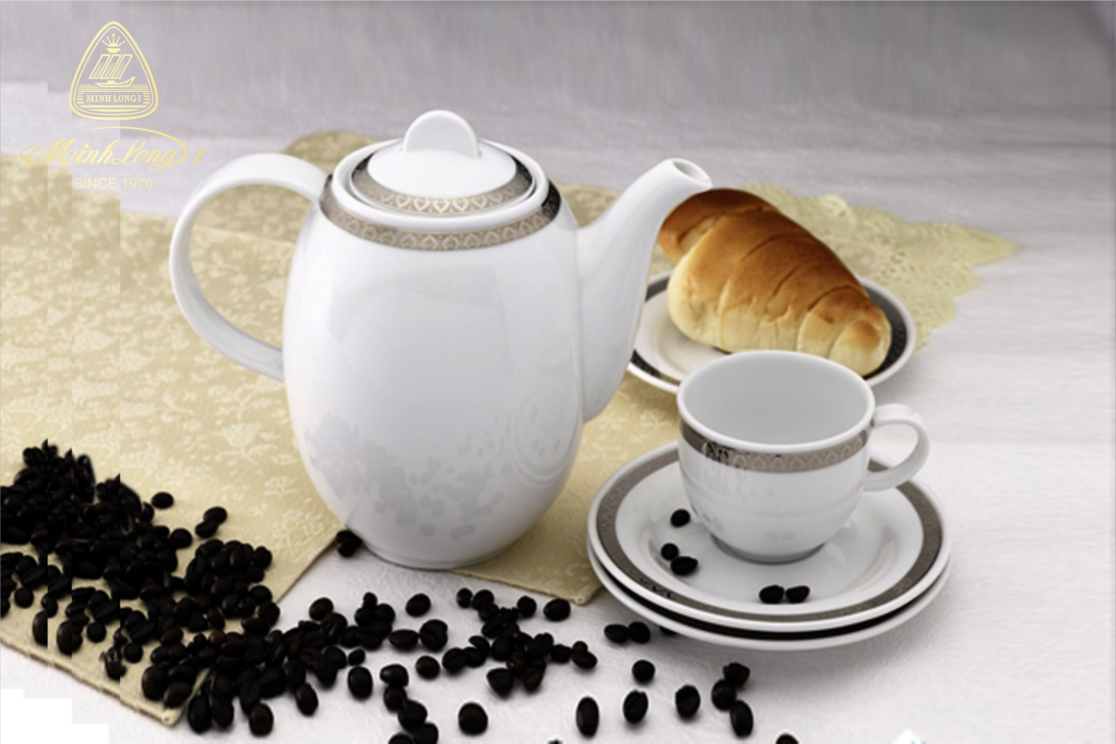 Bộ cà phê 0.8L Sago Thiên Tuế 01080101803 Minh Long