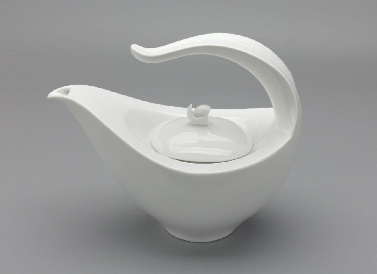 Bình trà 1.13L + nắp Anh Vũ Lys Trắng Ngà 011180000