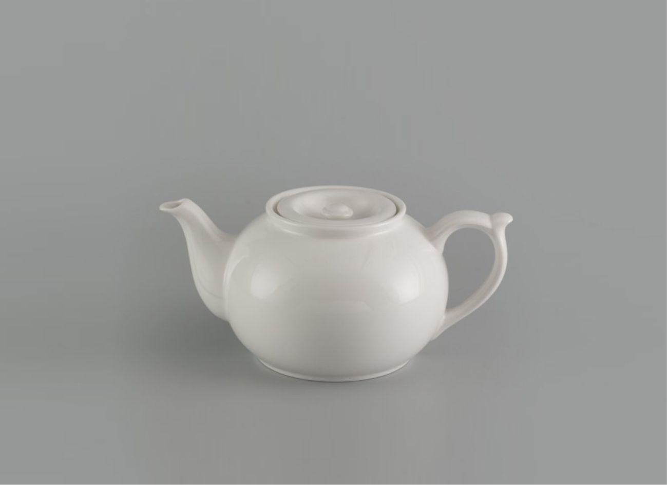 Bình trà 1.1L vòi lên + nắp Jas Lys Trắng Ngà 011191000