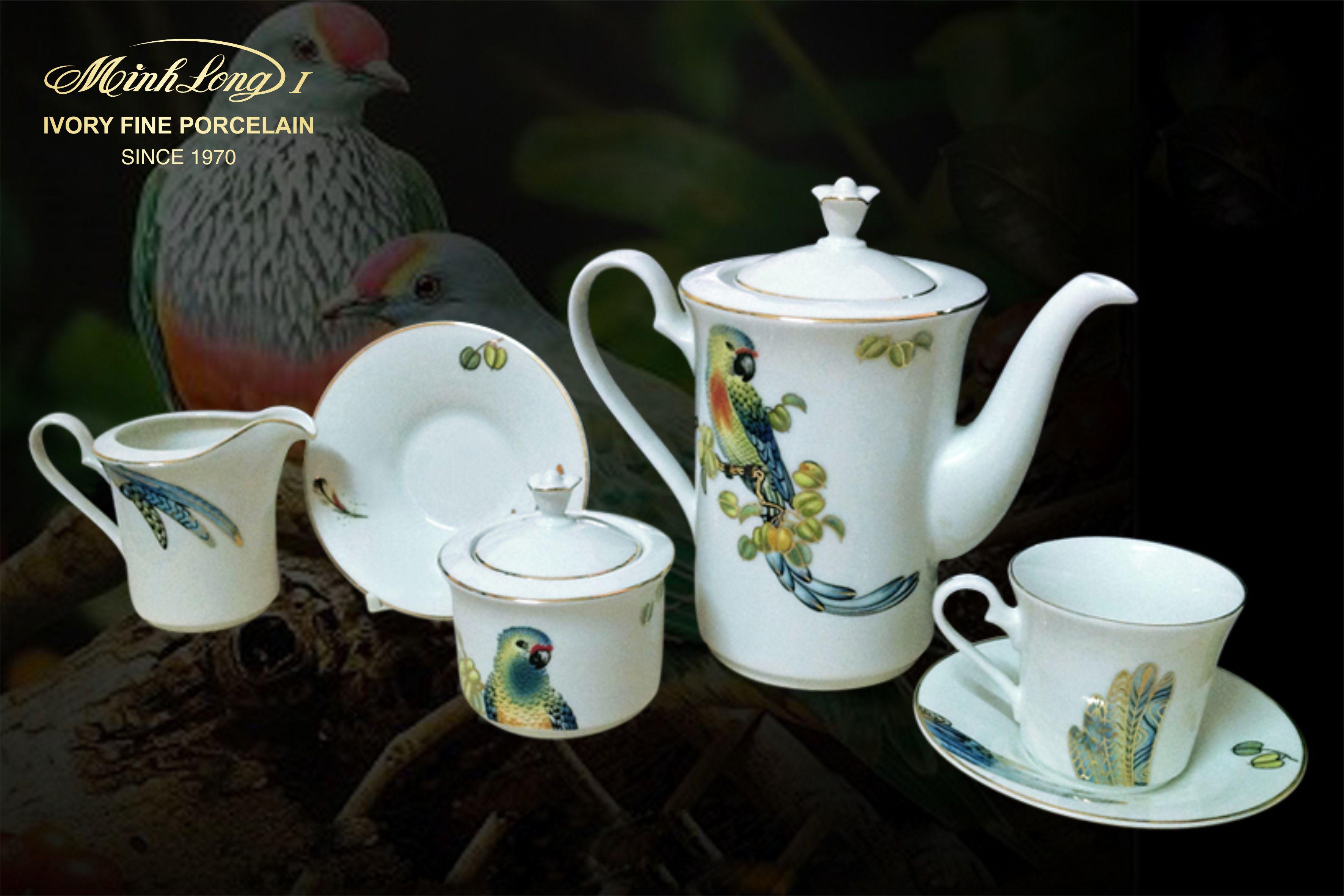 Bộ cà phê 1.25L Tulip Ngà Hoàng Yến 01124330303 Minh Long