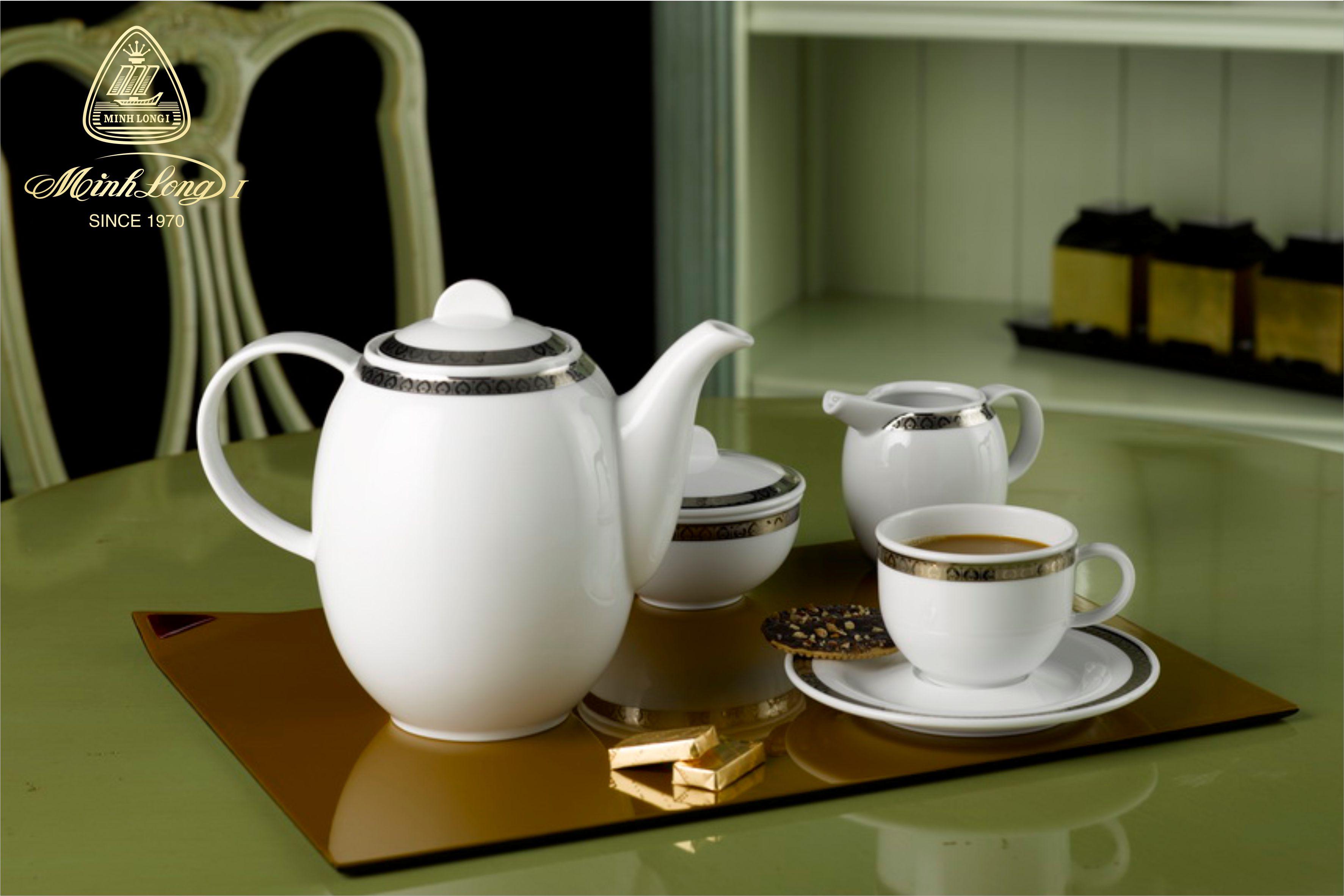 Bộ cà phê 1.3L Sago Thiên Tuế 01130101803 Minh Long