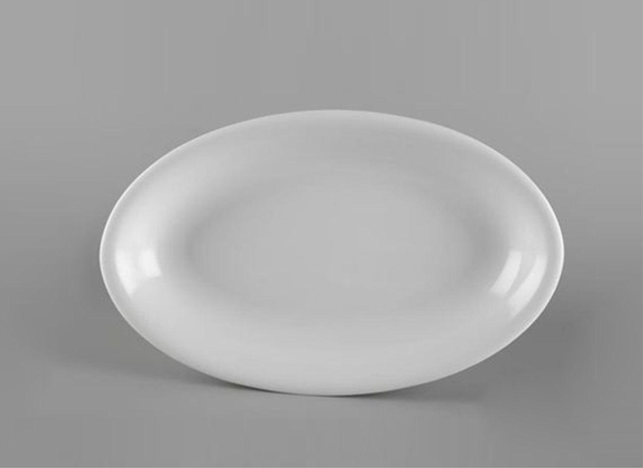 Dĩa oval ảo 32cm Daisy Lys Trắng Ngà 053226000