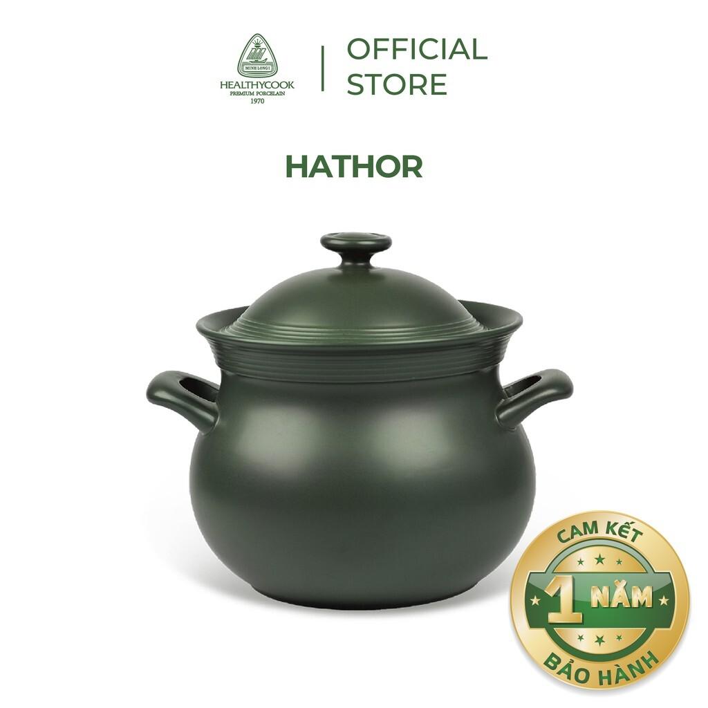 Nồi Sứ Dưỡng Sinh Bếp Ga Hathor 7.1L - Gốm Sứ Minh Long