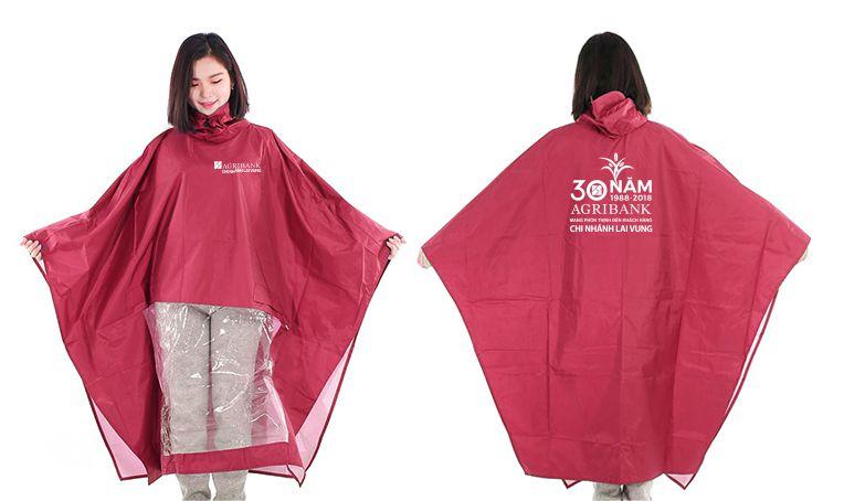 Áo mưa ( Kiểu chữ A) vải dù siêu nhẹ