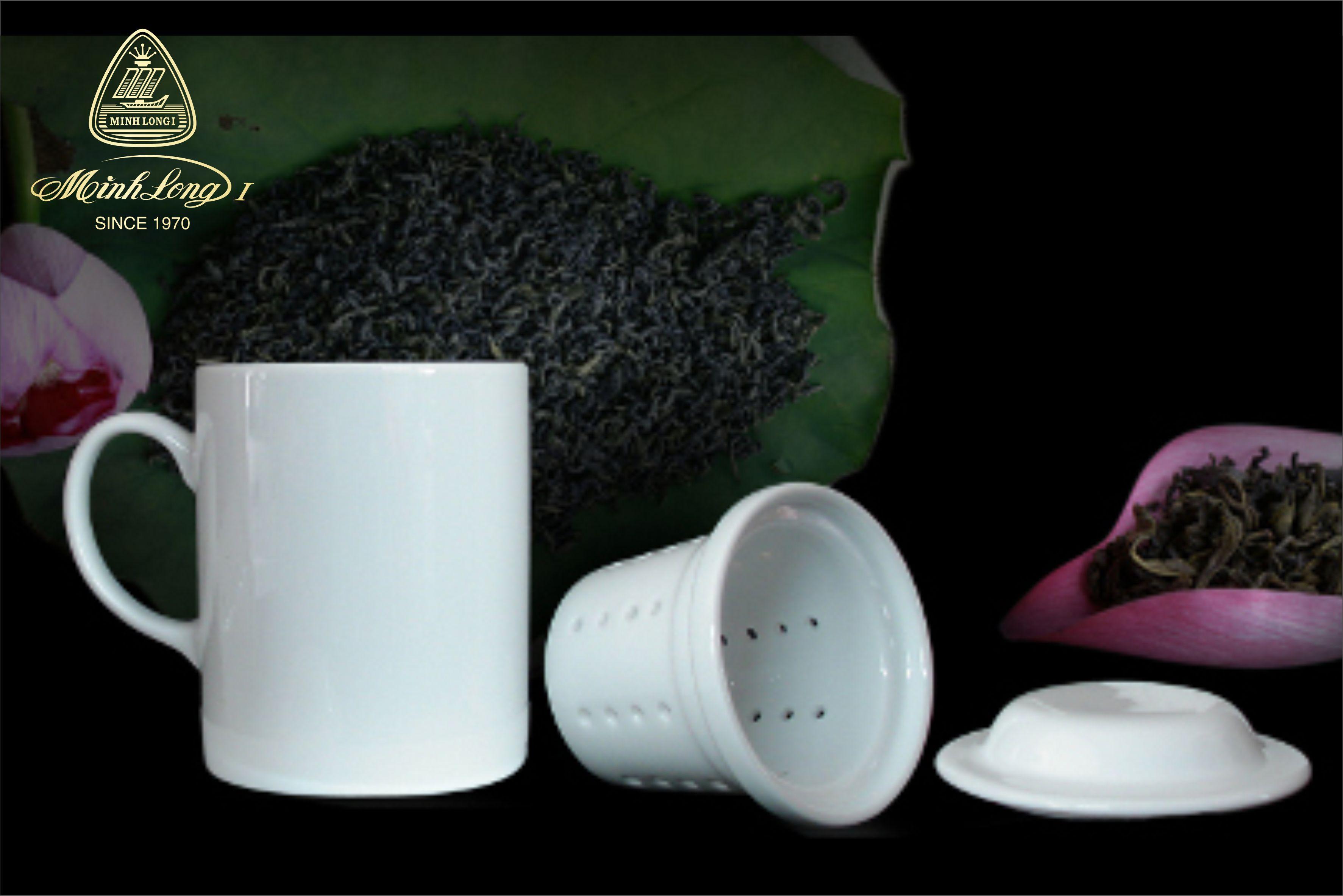 Bộ ca Lọc trà JAS Trắng 15300400003 Minh Long