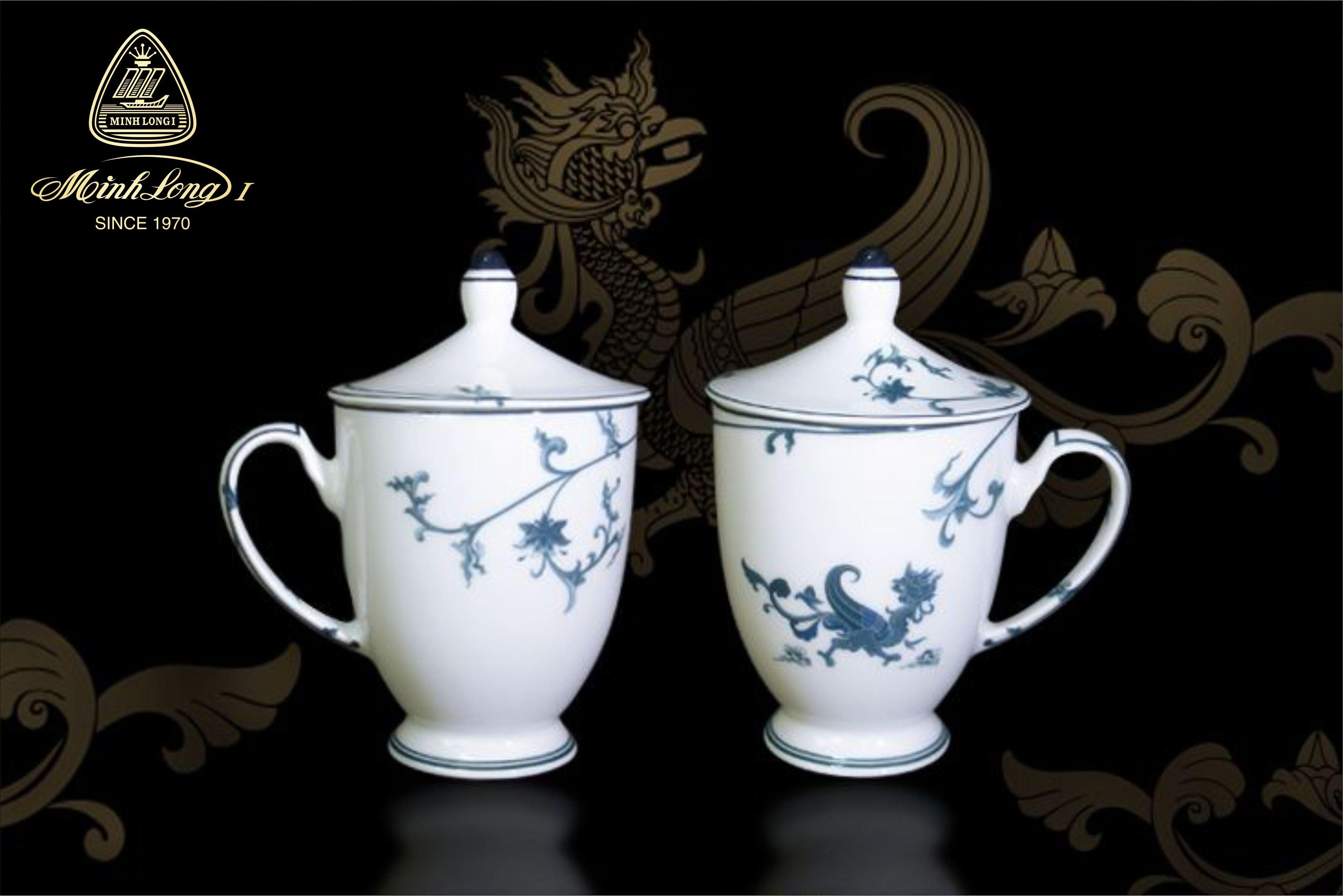 Ca trà 0.30L + nắp Hoàng Cung Lạc Hồng 153020208 Minh Long