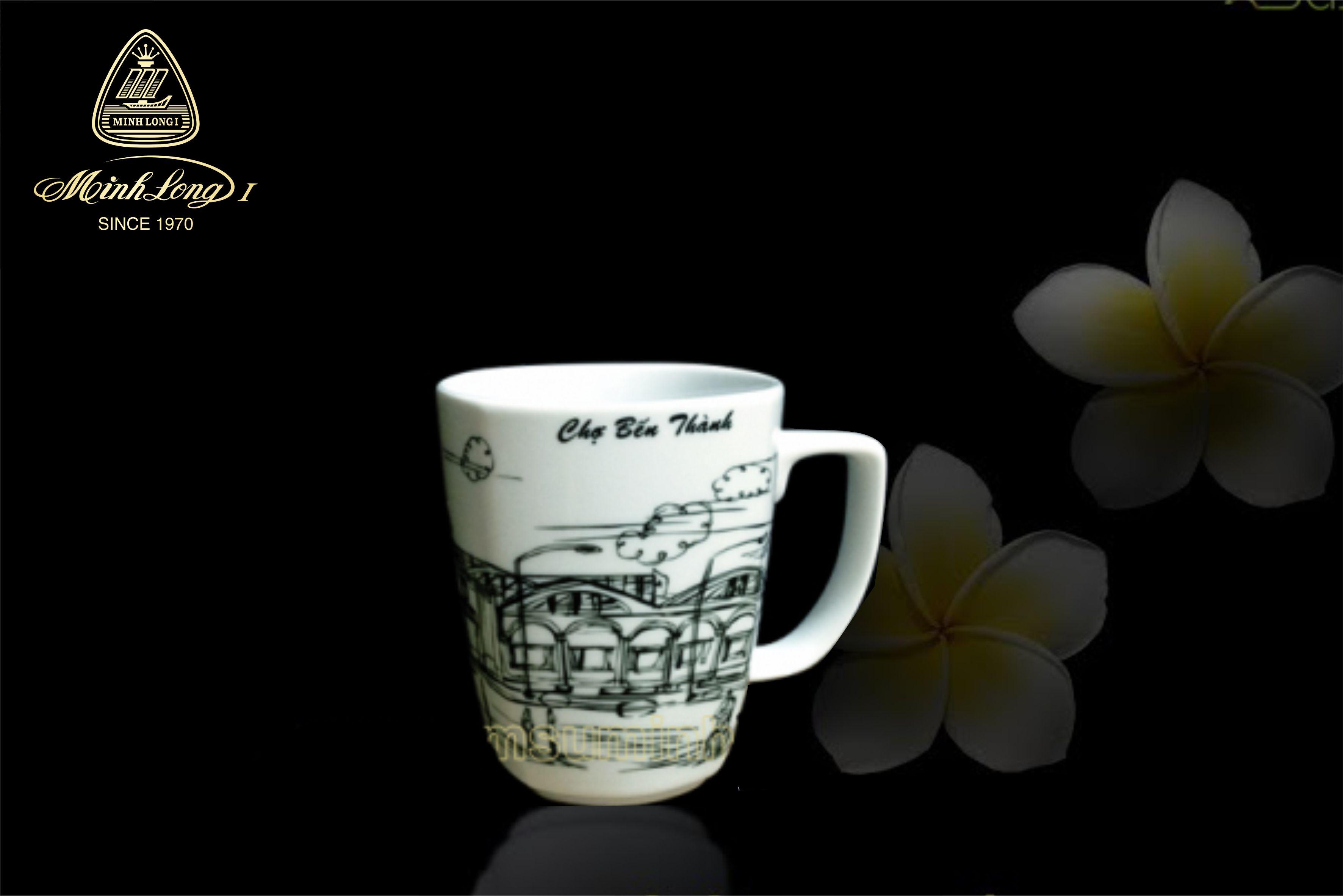 Ca trà 0.36L Vuông T Chợ Bến Thành 153635067 Minh Long
