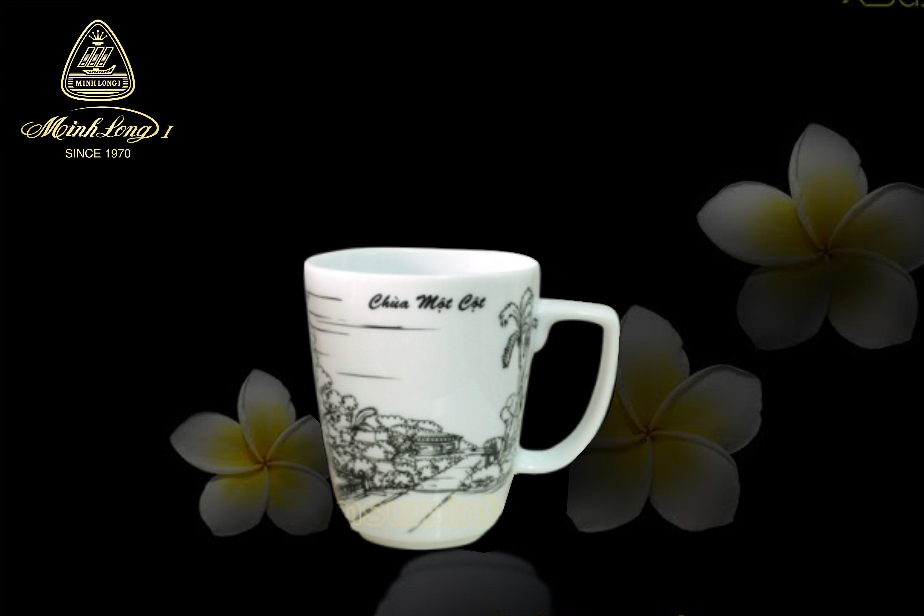 Ca trà 0.36L Vuông T Chùa Một Cột 153635097 Minh Long