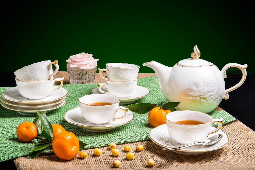 Bộ trà 0.7L SEN IFP Chỉ Vàng 68701401403 Minh Long