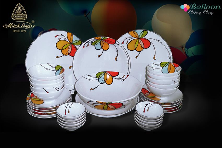 Bộ bàn ăn 35sp Daisy Bóng Bay  35312 Minh Long