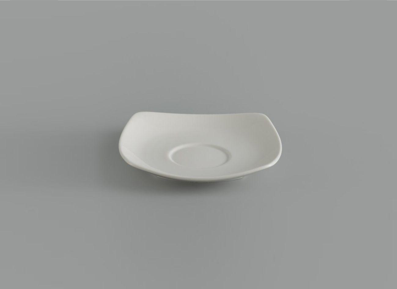 Dĩa lót chén vuông 15.5 cm Jas Lys Trắng Ngà 411506000