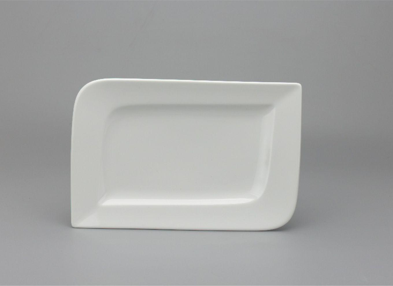 Dĩa chữ nhật 27 x 18cm Anh Vũ Lys Trắng Ngà 432717000