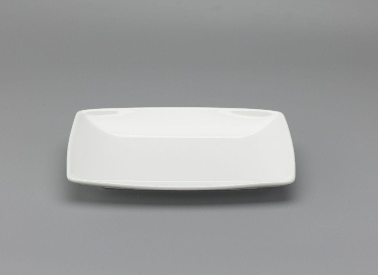 Dĩa chữ nhật phẳng 27 x 18cm Anh Vũ Lys Trắng Ngà 432720000