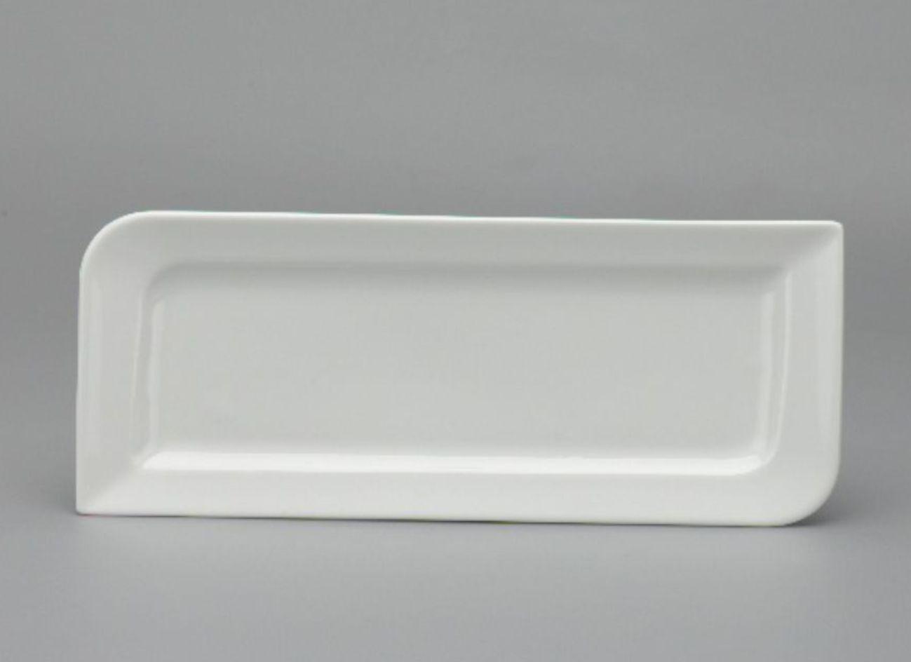 Dĩa chữ nhật dài 39 x 15cm Anh Vũ Lys Trắng Ngà 433918000
