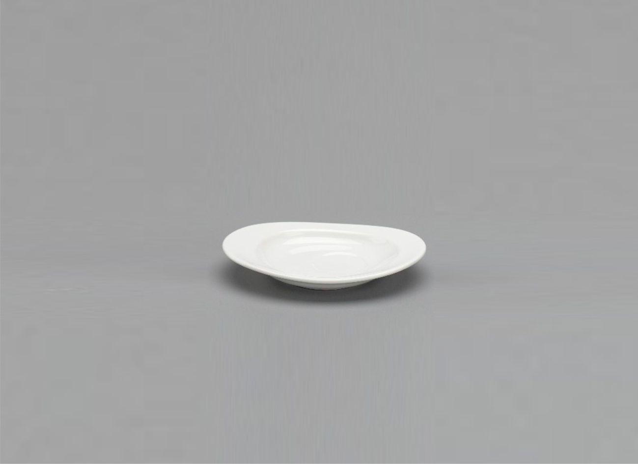 Dĩa lót oval 14 x 10cm Daisy Lys Trắng Ngà 571443000