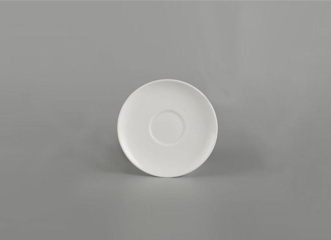 Dĩa lót tách cappuccino 12.5cm Daisy Lys Trắng Ngà 601212000