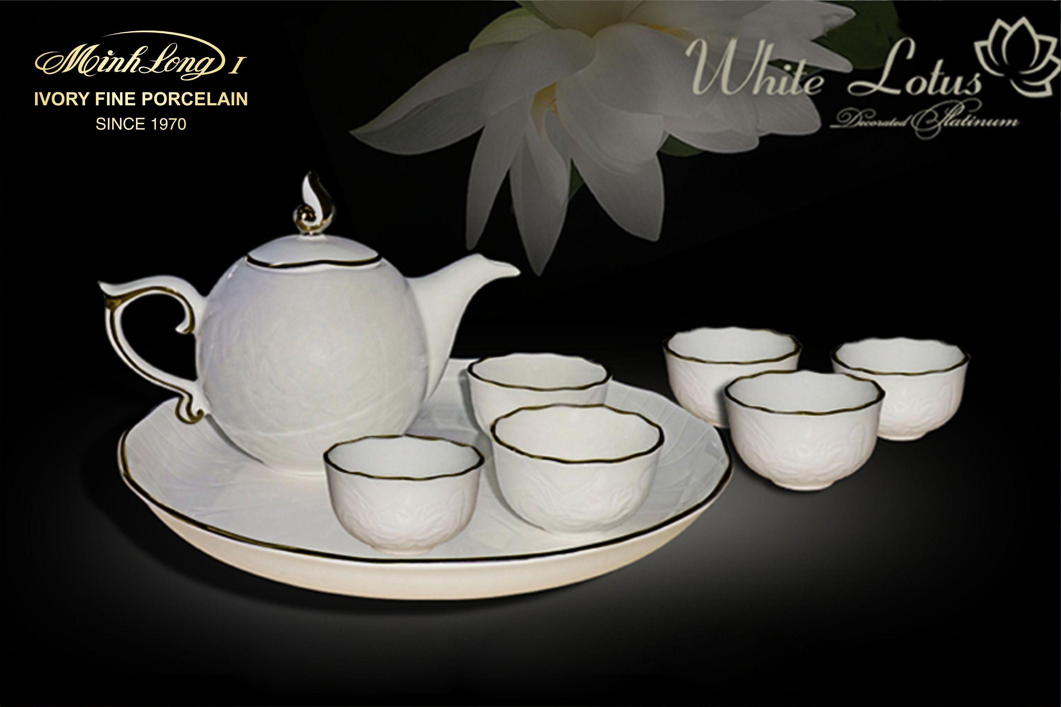 Bộ trà 0.3L SEN IFP Chỉ Vàng 68301401403 Minh Long