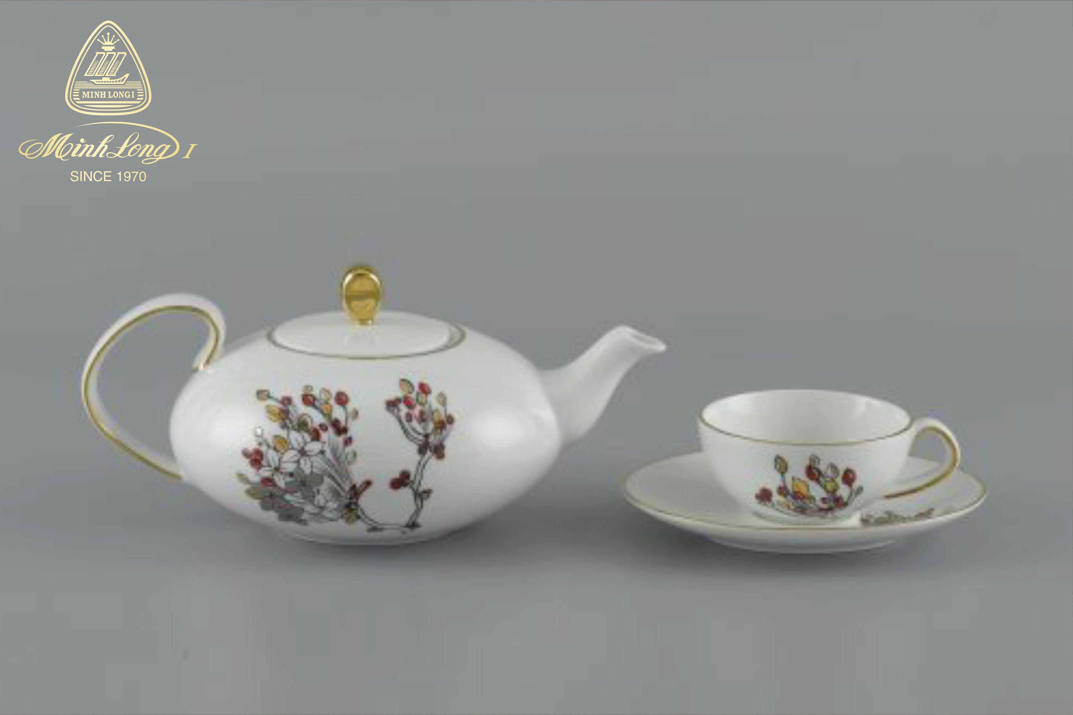 Bộ trà elip 0.47L Anna Như Ý 68470246203 Minh Long
