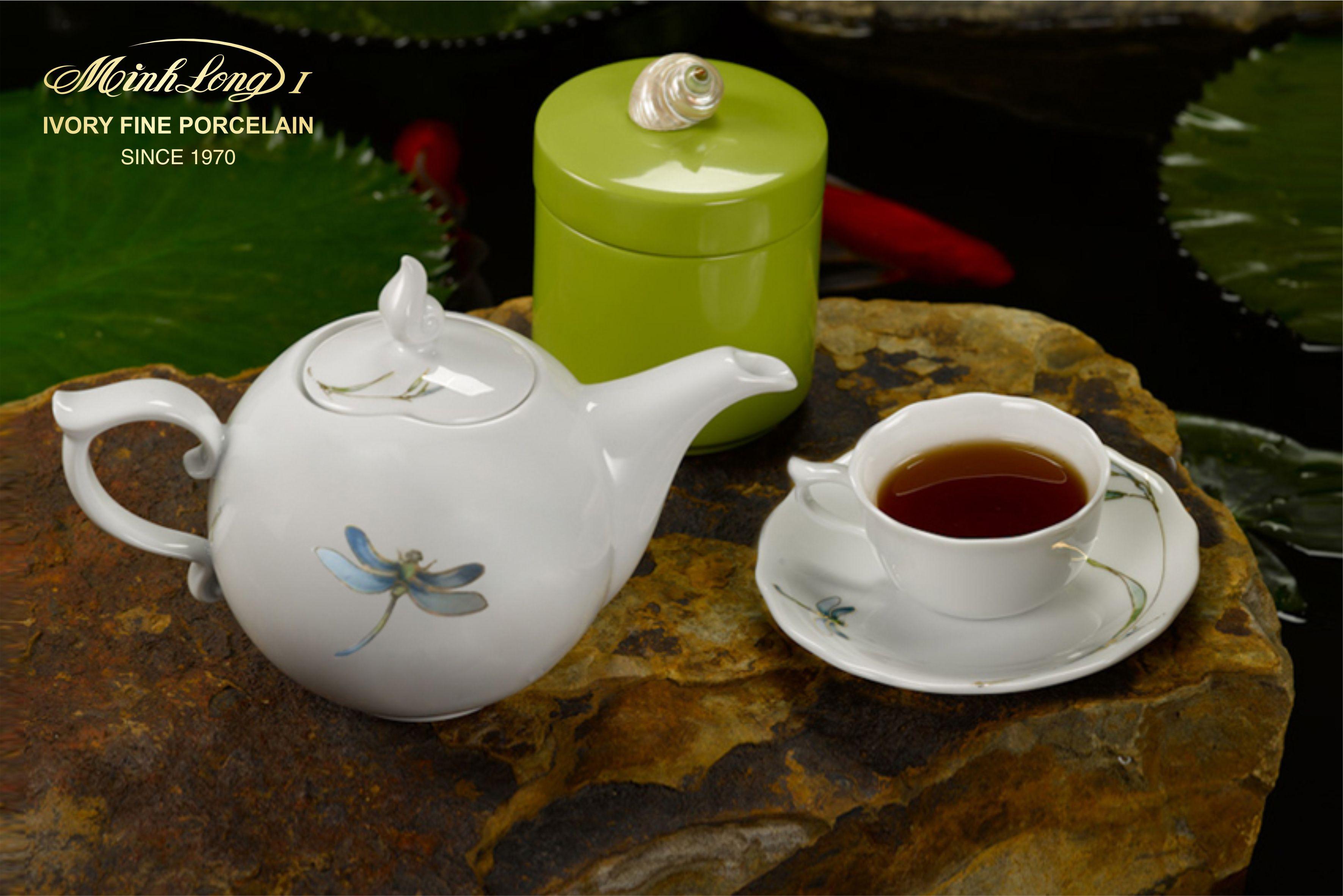 Bộ trà 0.7L Mẫu Đơn IFP Thanh Trúc 68701317603 Minh long